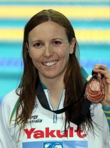 Sarah Katsoulis World SC 2012 Bronze Medal
