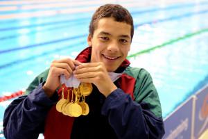 Nicholas Groenewald Aust Age Medals