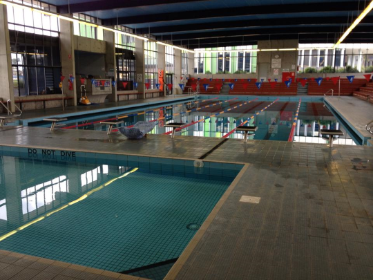 Mt Scopus pool